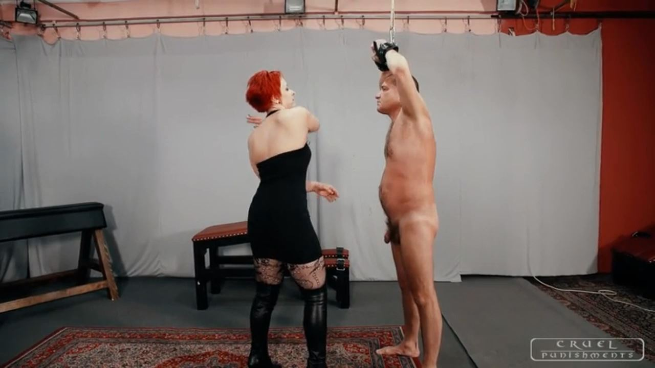 Mistress Maggie In Scene: Big slaps - CRUEL PUNISHMENTS - SEVERE FEMDOM - HD/720p/MP4