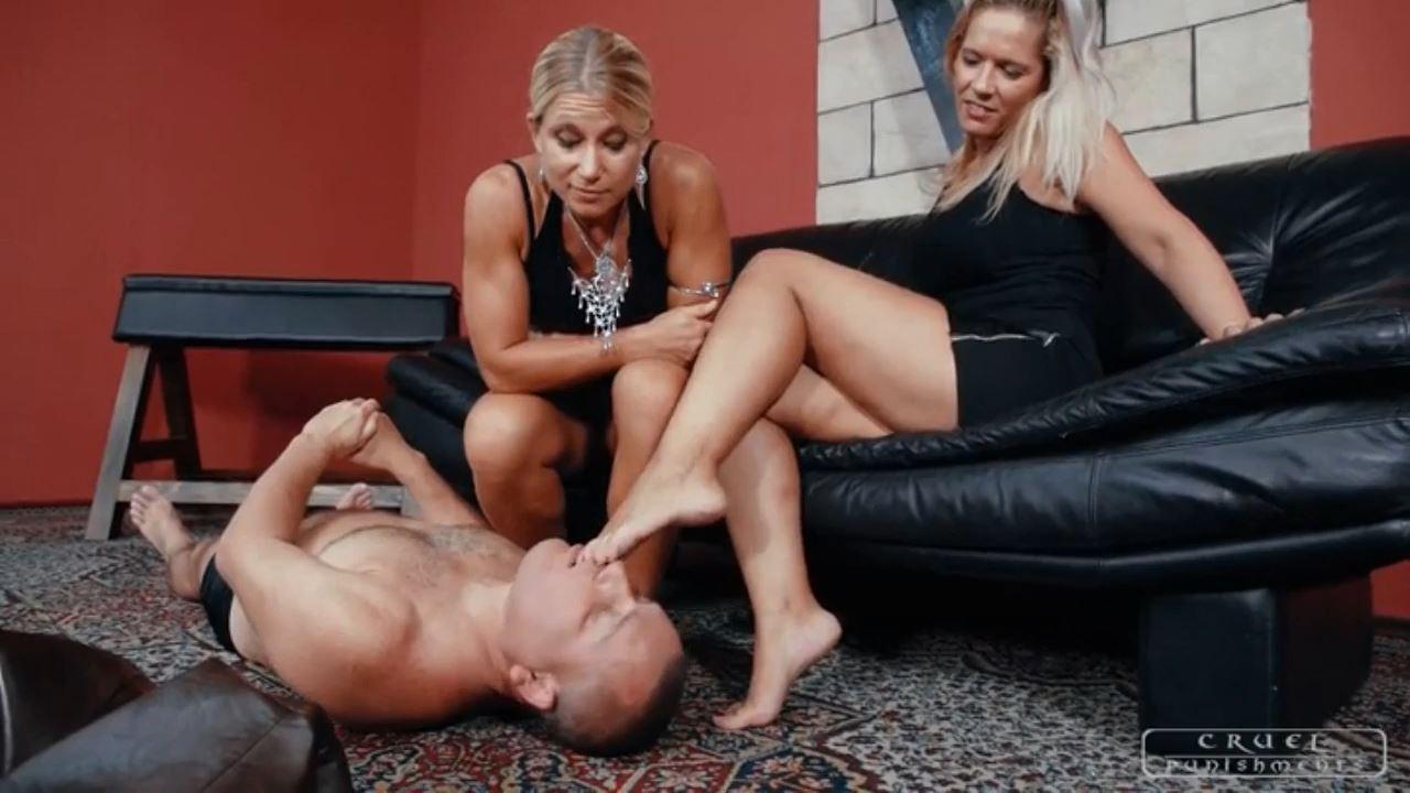 Mistress Zita, Mistress Melanie In Scene: How big is your mouth - CRUEL PUNISHMENTS - SEVERE FEMDOM - HD/720p/MP4