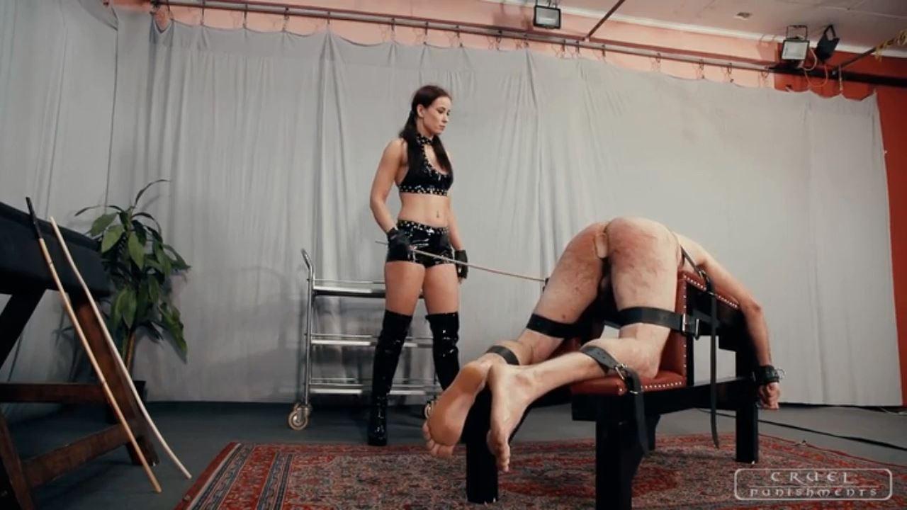 Mistress Anette In Scene: Slave's tortured body Part 2 - CRUEL PUNISHMENTS - SEVERE FEMDOM - HD/720p/MP4