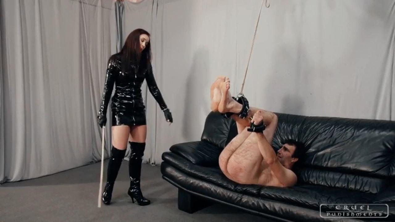 Mistress Anette In Scene: Slave's brutal day Part 3 - CRUEL PUNISHMENTS - SEVERE FEMDOM - HD/720p/MP4