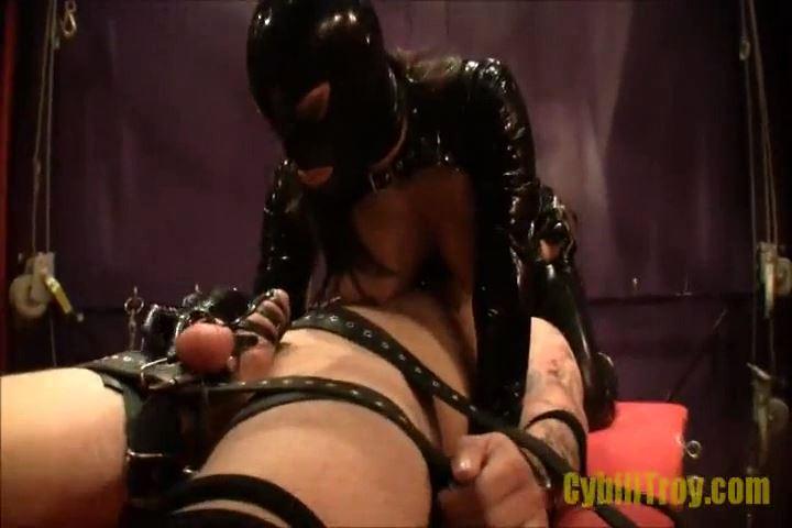 Mistress Cybill Troy In Scene: Latex Stella's Big Tit Smothering Tease - CYBILL TROY`S DTLA DOMINAS / CYBILLTROY - SD/480p/MP4