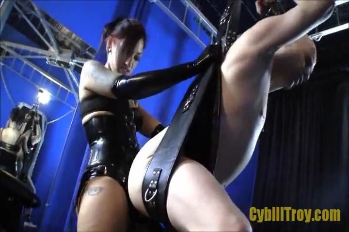 Mistress Cybill Troy In Scene: Suspended Strap-On - CYBILL TROY`S DTLA DOMINAS / CYBILLTROY - SD/480p/MP4