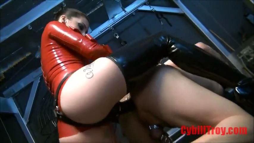 Mistress Cybill Troy In Scene: Chastity Ass Fuck - CYBILL TROY`S DTLA DOMINAS / CYBILLTROY - SD/480p/MP4
