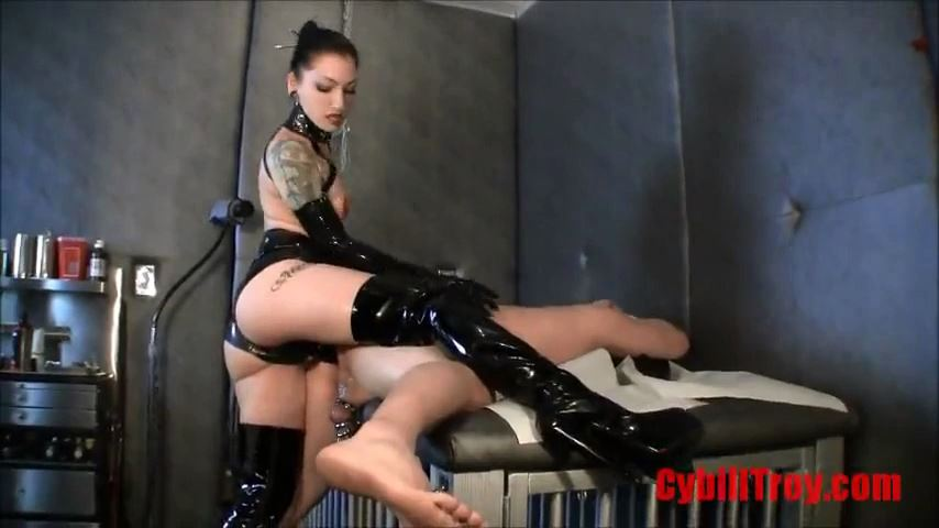 Mistress Cybill Troy In Scene: Punished by Cybill's Cock - CYBILL TROY`S DTLA DOMINAS / CYBILLTROY - SD/480p/MP4