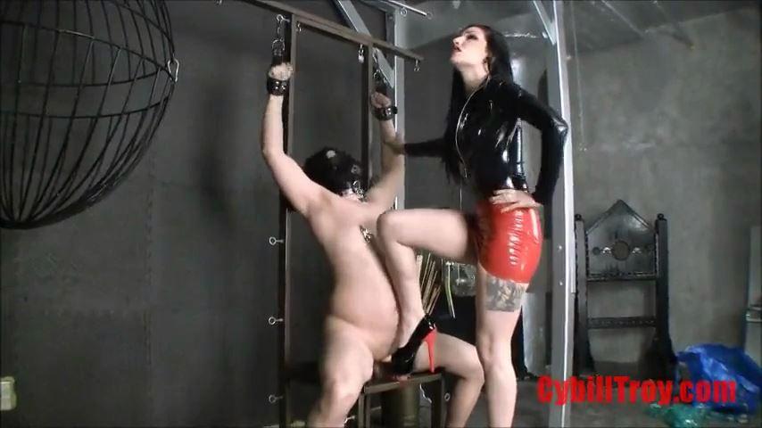 Mistress Cybill Troy In Scene: Cock Stomper - CYBILL TROY`S DTLA DOMINAS / CYBILLTROY - SD/480p/MP4