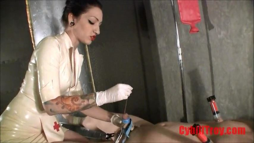 Mistress Cybill Troy In Scene: Stretching His Virgin Cock Hole - CYBILL TROY`S DTLA DOMINAS / CYBILLTROY - SD/480p/MP4