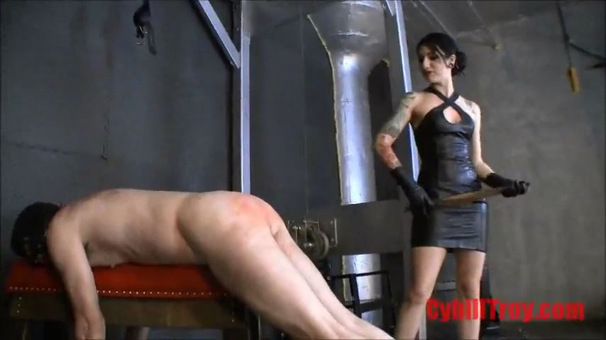 Mistress Cybill Troy In Scene: Leather Belt Spanking - CYBILL TROY`S DTLA DOMINAS / CYBILLTROY - SD/480p/MP4