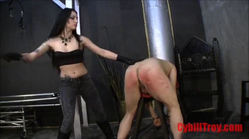 Mistress Cybill Troy In Scene: Heartless Caning - CYBILL TROY`S DTLA DOMINAS / CYBILLTROY - SD/480p/MP4