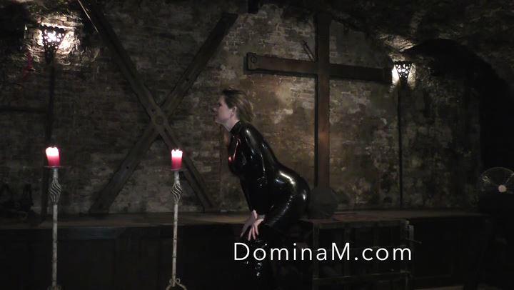 Domina M In Scene: Used Mouth - DOMINA M`s SLAVE TRAINING - SD/406p/MP4