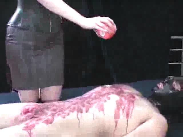 Domina M In Scene: Wax Encasement, 3rd Installent - DOMINA M`s SLAVE TRAINING - SD/480p/MP4
