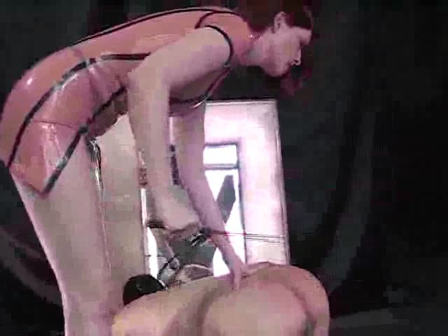Domina M In Scene: Mistress� Desire for Whipped Slaves, 3rd Installent - DOMINA M`s SLAVE TRAINING - SD/480p/MP4