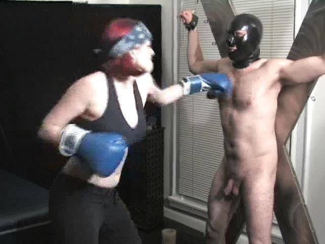 Domina M In Scene: Punching Bag, 3rd Installent - DOMINA M`s SLAVE TRAINING - SD/480p/MP4