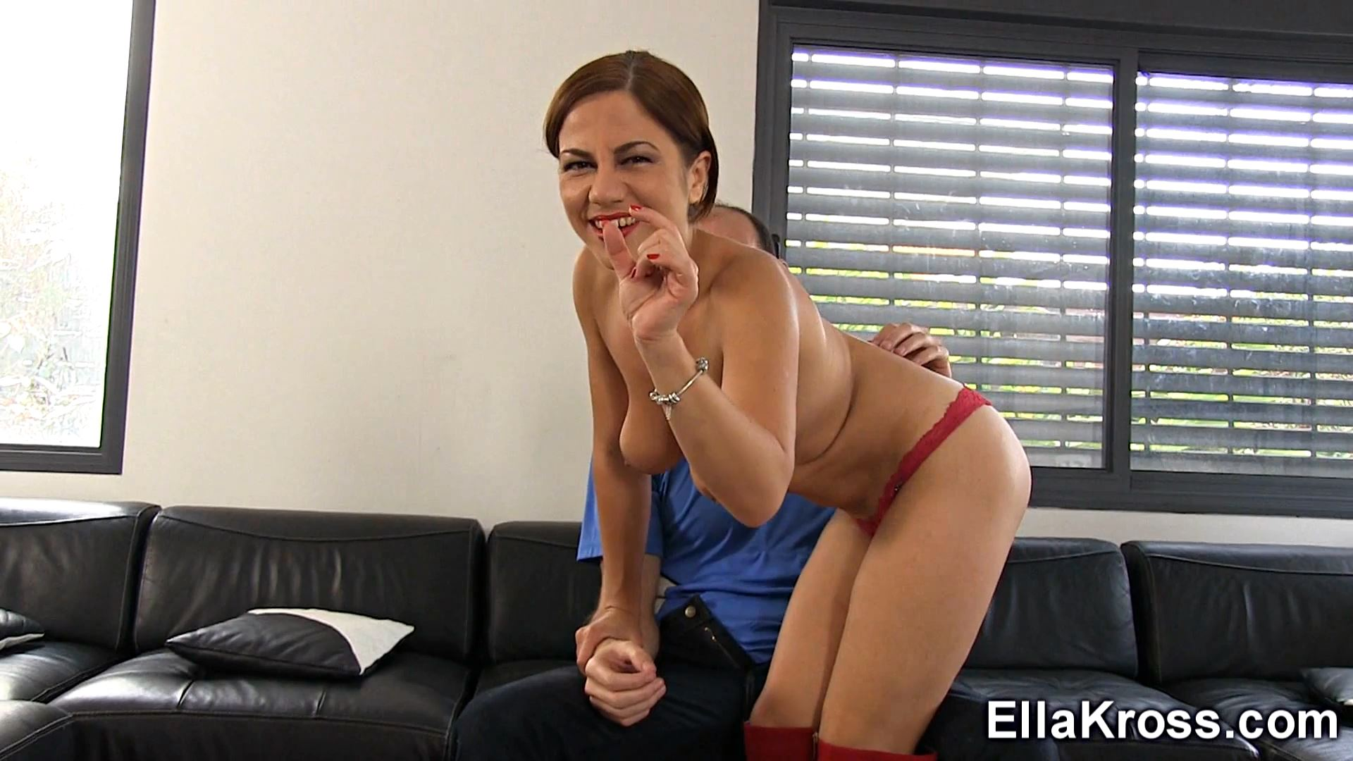 Ella Kross In Scene: Lap Dance with Small Cock Humiliation - ELLAKROSS - FULL HD/1080p/MP4
