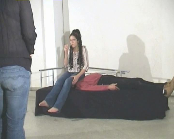 Cleopatra is 19 years old, 56 kilos, backstage from shooting 4 - FETISH-FILM - SD/576p/MP4