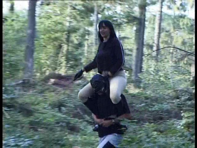 Monic Amateur Human Pony-Riding, Vol. 1 Clip 3 - FETISH-FILM - SD/480p/MP4