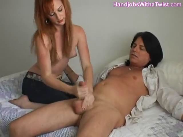 JERKED BY A TOPLESS TINY REDHEAD - HANDJOBSWITHATWIST - SD/480p/MP4