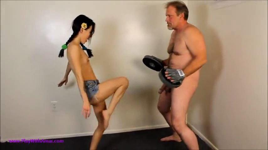 Princess Amai Liu In Scene: Asian Brat Amai's Punch and Play - PLAY WITH AMAI / ILOVEAMAI - SD/480p/MP4
