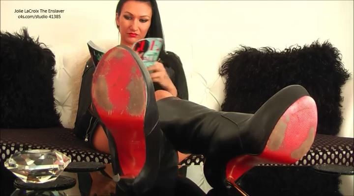 Jolie Lacroix In Scene: Pay For Dirty Soles - JOLIE LACROIX THE ENSLAVER - LQ/SD/400p/MP4