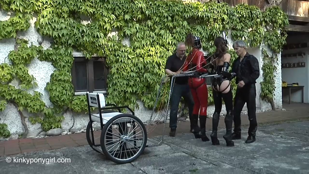 Three Ponygirls Part 2 - KINKYPONYGIRL - HD/720p/MP4