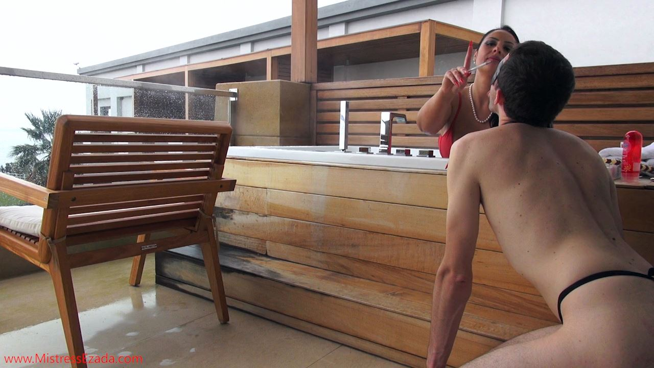 Mistresses Ezada Sinn In Scene: Weekend Break Balcony Jacuzzi Fun - MISTRESS EZADA SINN / MISTRESSEZADA - HD/720p/MP4