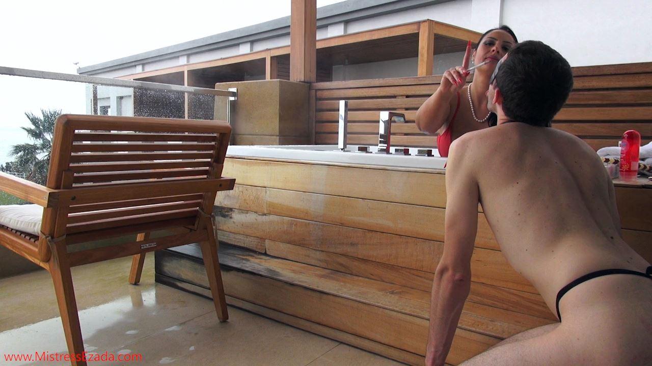 Mistresses Ezada Sinn In Scene: Weekend Break Balcony Jacuzzi Fun - MISTRESS EZADA SINN / MISTRESSEZADA - HD/720p/MP4