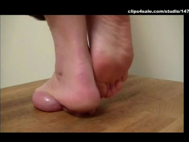 Mistress Arletta In Scene: STRONG BARE FEET - A BALLS AND COCK TRAMPLE - SD/480p/MP4