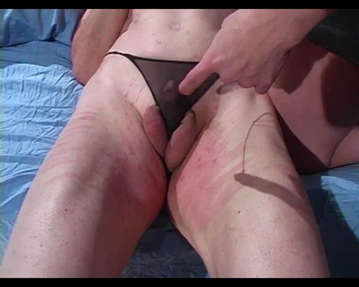 Beating the Sutured Silent slave - MISTRESS TRISH - SD/576p/MP4