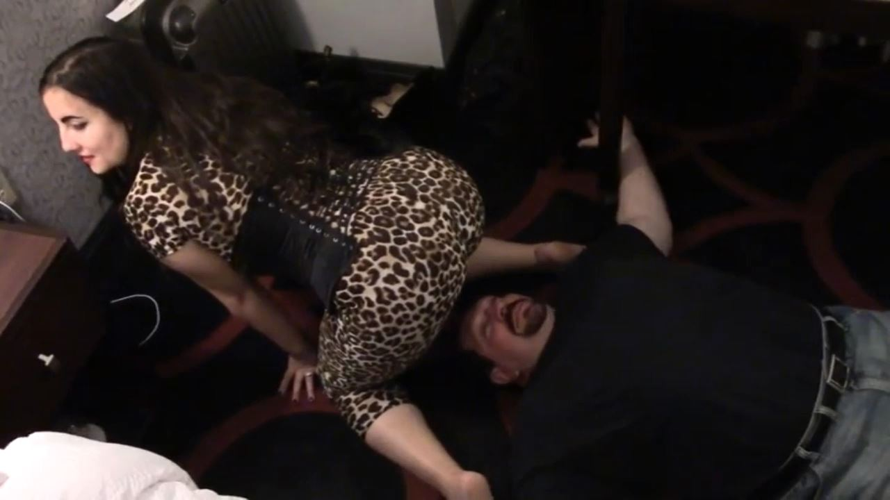 Mistress Xena In Scene: Human Furniture in Boston - BIZARRE CINEMA - HD/720p/MP4
