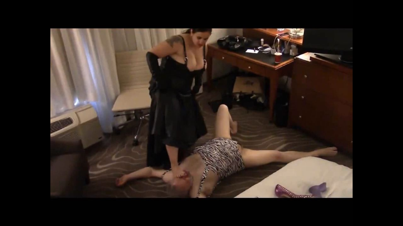 Mistress Xena In Scene: Dominating doughboy in Detroit Part 5 - BIZARRE CINEMA - HD/720p/MP4