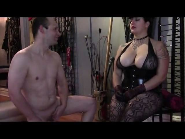 Mistress Xena In Scene: Jerk That Little Dick - BIZARRE CINEMA - SD/480p/MP4