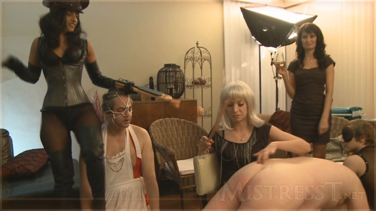 Mistress T In Scene: Goddess Party4 Part 3 - MISTRESST - HD/720p/MP4
