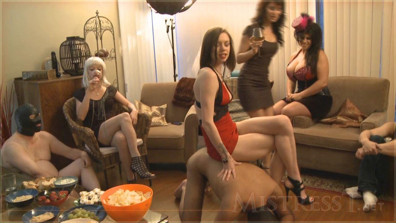 Mistress T In Scene: Goddess Party 4 Part 1 - MISTRESST - HD/720p/MP4