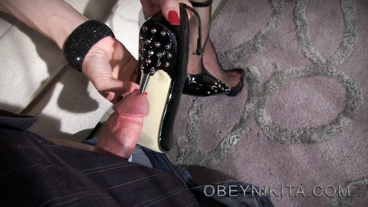 Mistress Nikita In Scene: Heel Fuck - OBEYNIKITA - HD/720p/MP4