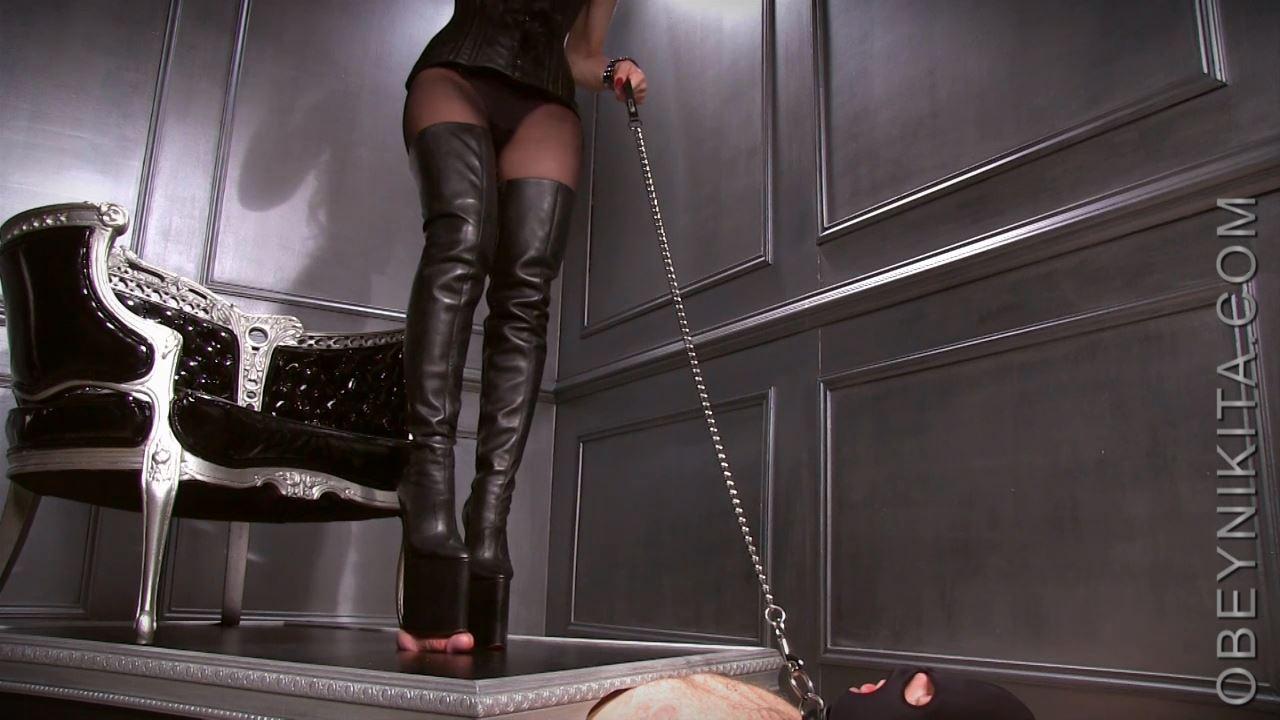 Mistress Nikita In Scene: Platform Boot Whore - OBEYNIKITA - HD/720p/MP4