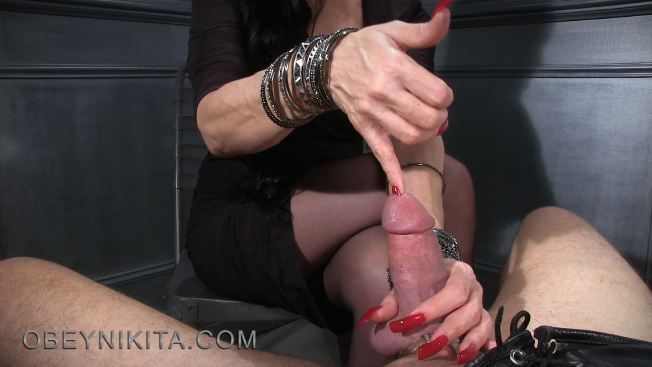 Mistress Nikita In Scene: Long Red Nails - OBEYNIKITA - HD/720p/MP4