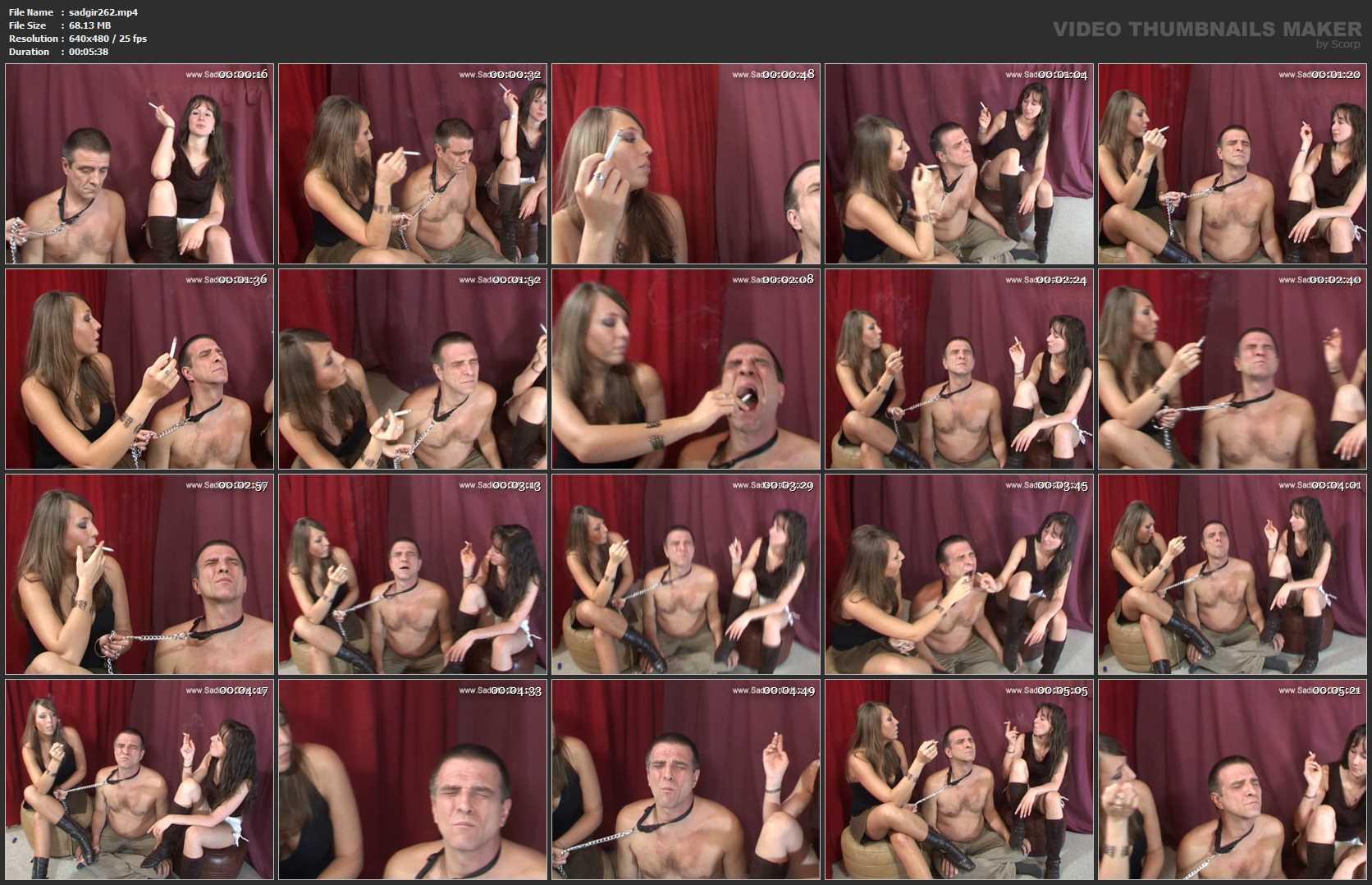 Vanessa and Nicole Humiliating 1 - SADISTIC-GIRLS - SD/480p/MP4