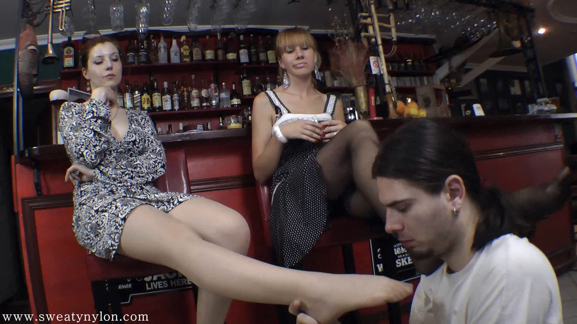 Goddess Victoria, Goddess Lydia In Scene: Smell and suck it Part 5 - SWEATREMOVER - FULL HD/1080p/MP4