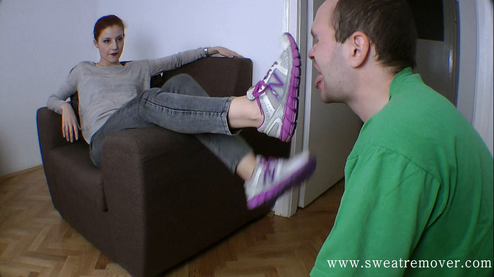 Goddess Victoria In Scene: This sneakers - SWEATREMOVER - FULL HD/1080p/MP4