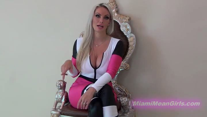 Goddess Harley In Scene: BEG TO BE KICKED IN THE NUTS - THE MEAN GIRLS POV - SD/406p/MP4