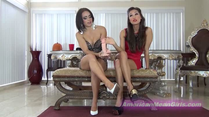 Goddess Rodea, Princess Carmela In Scene: COCKSUCKING CONDITIONING - THE MEAN GIRLS POV - SD/404p/MP4