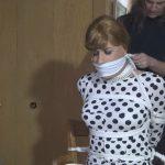 Sandra returns in her new polka dot dress – TRANNIESINTROUBLE – HD/720p/MP4