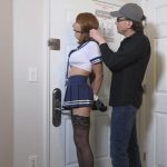 Sexy Jocelyn L. in her navy blue uniform – TRANNIESINTROUBLE – HD/720p/MP4