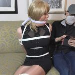 Vivian Chen in her sexy black dress, bound and cleave gagged – TRANNIESINTROUBLE – HD/720p/MP4
