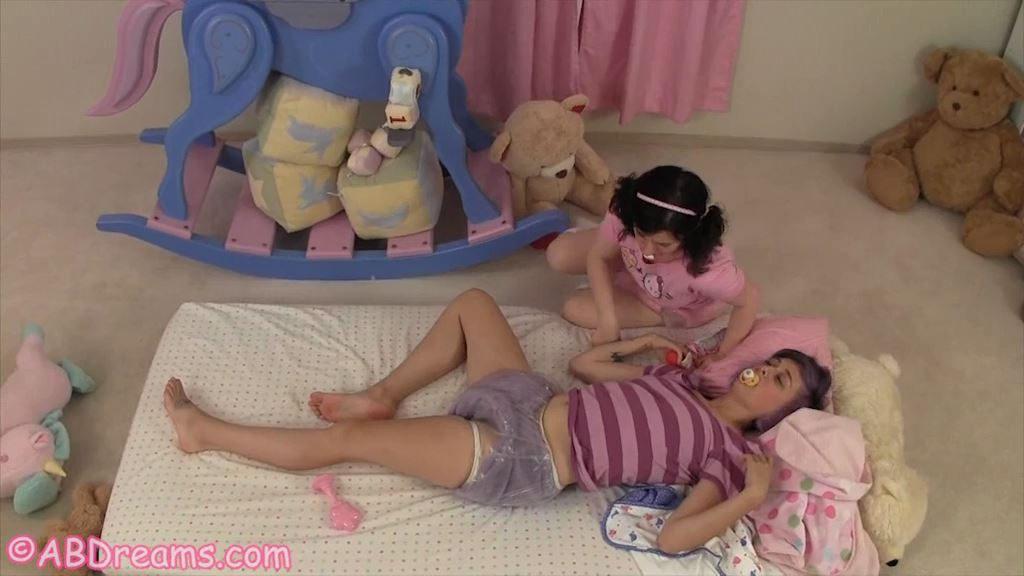 Pink and Purple Diapers - ABDREAMS - SD/576p/MP4