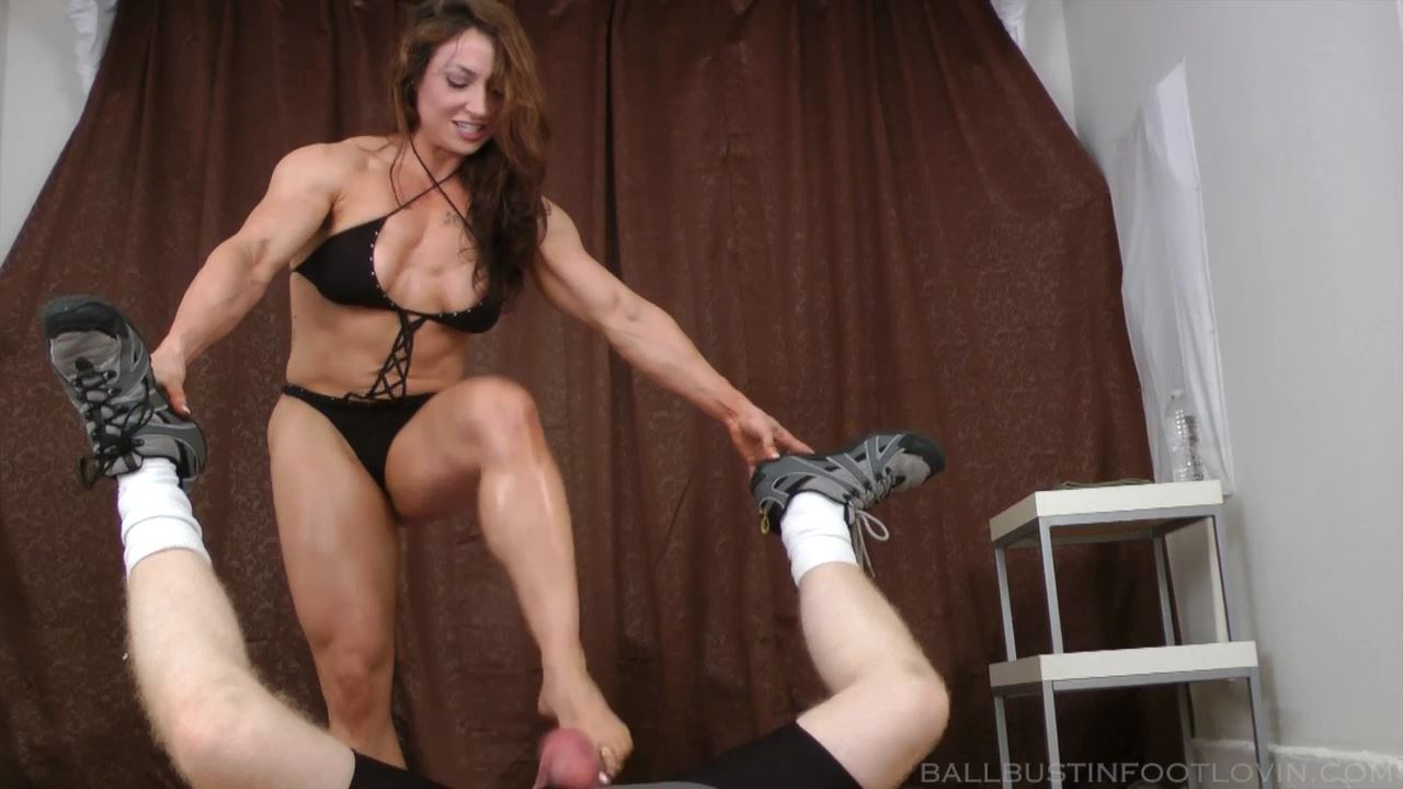 Female Bodybuilder Testicle Kicking Compilation - FETLOVIN / BALLBUSTINFOOTLOVIN.FETLOVIN - HD/720p/MP4