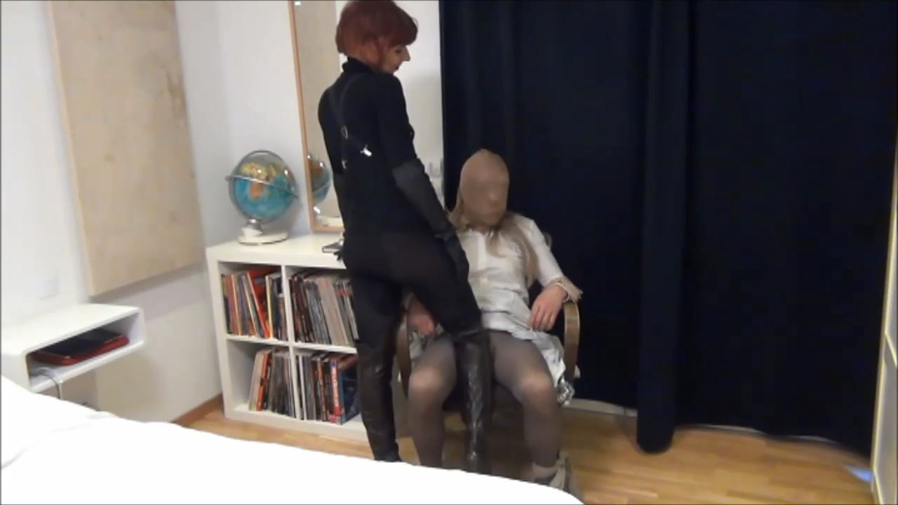 Lady Renee In Scene: CROSSDRESSER SISSY IN PERIL - FORCED TO STAY AT HOME - BONDISHBOYS - HD/720p/MP4