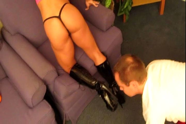 Shine Ms Dani Devious` Domme Boots - CRUDELIS AMATOR BALLBUSTING FETISH - SD/480p/MP4