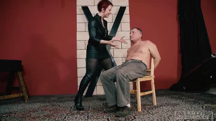Mistress Maggie In Scene: Be ashamed - CRUEL PUNISHMENTS - SEVERE FEMDOM - SD/406p/MP4