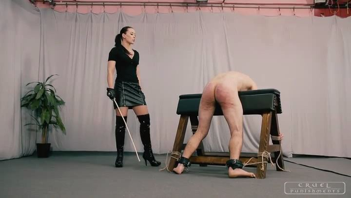 Mistress Anett In Scene: Brutality in three phases Part 1 - CRUEL PUNISHMENTS - SEVERE FEMDOM - SD/406p/MP4