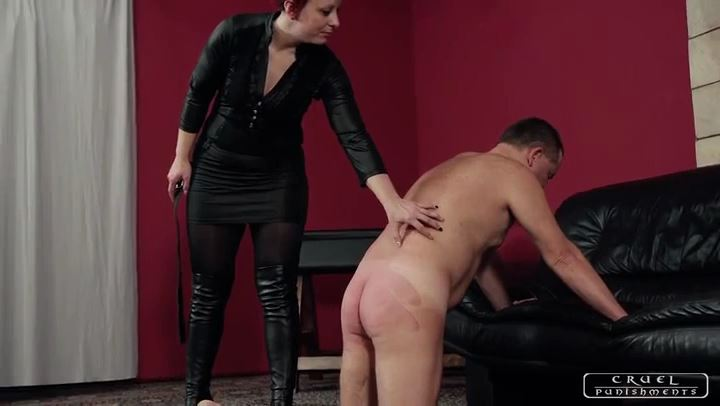Mistress Maggie In Scene: Bending over - CRUEL PUNISHMENTS - SEVERE FEMDOM - SD/406p/MP4